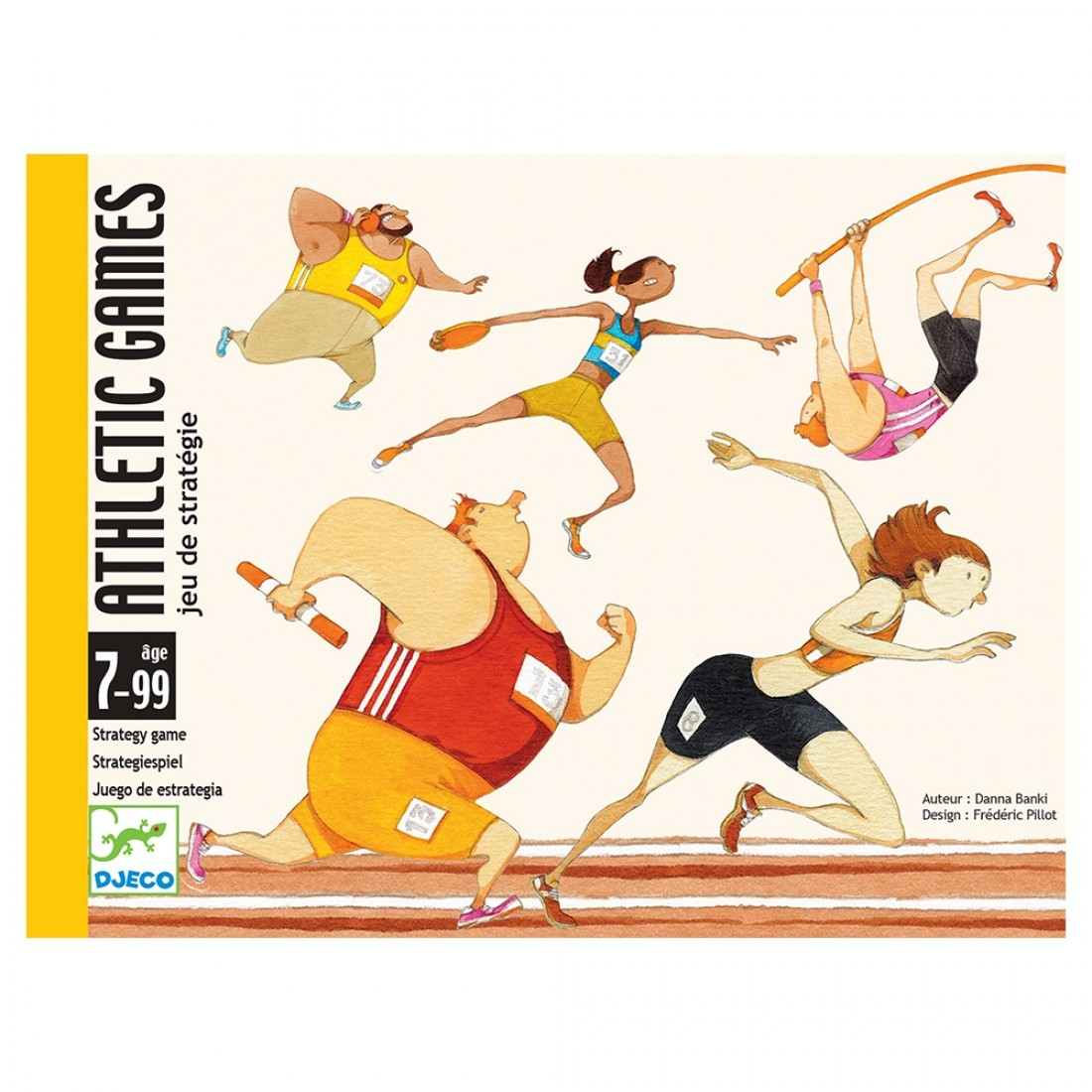 Gioco Carte Athletic Games