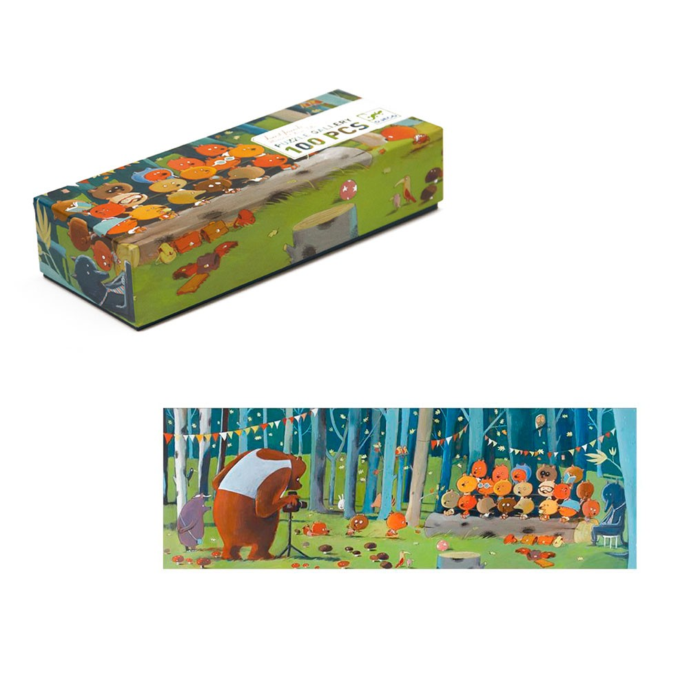 Puzzle Gallery - Forest Friends (100 pezzi)