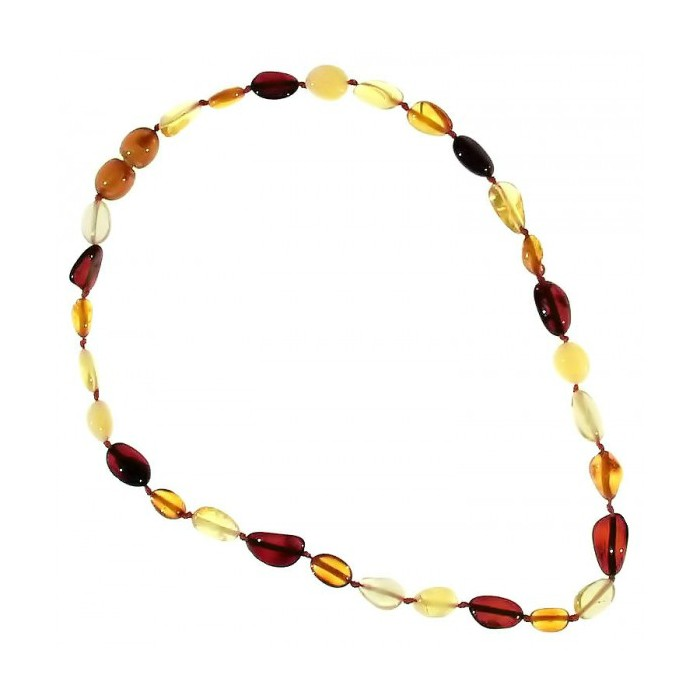 Collana Ambra Ovale - Multicolor