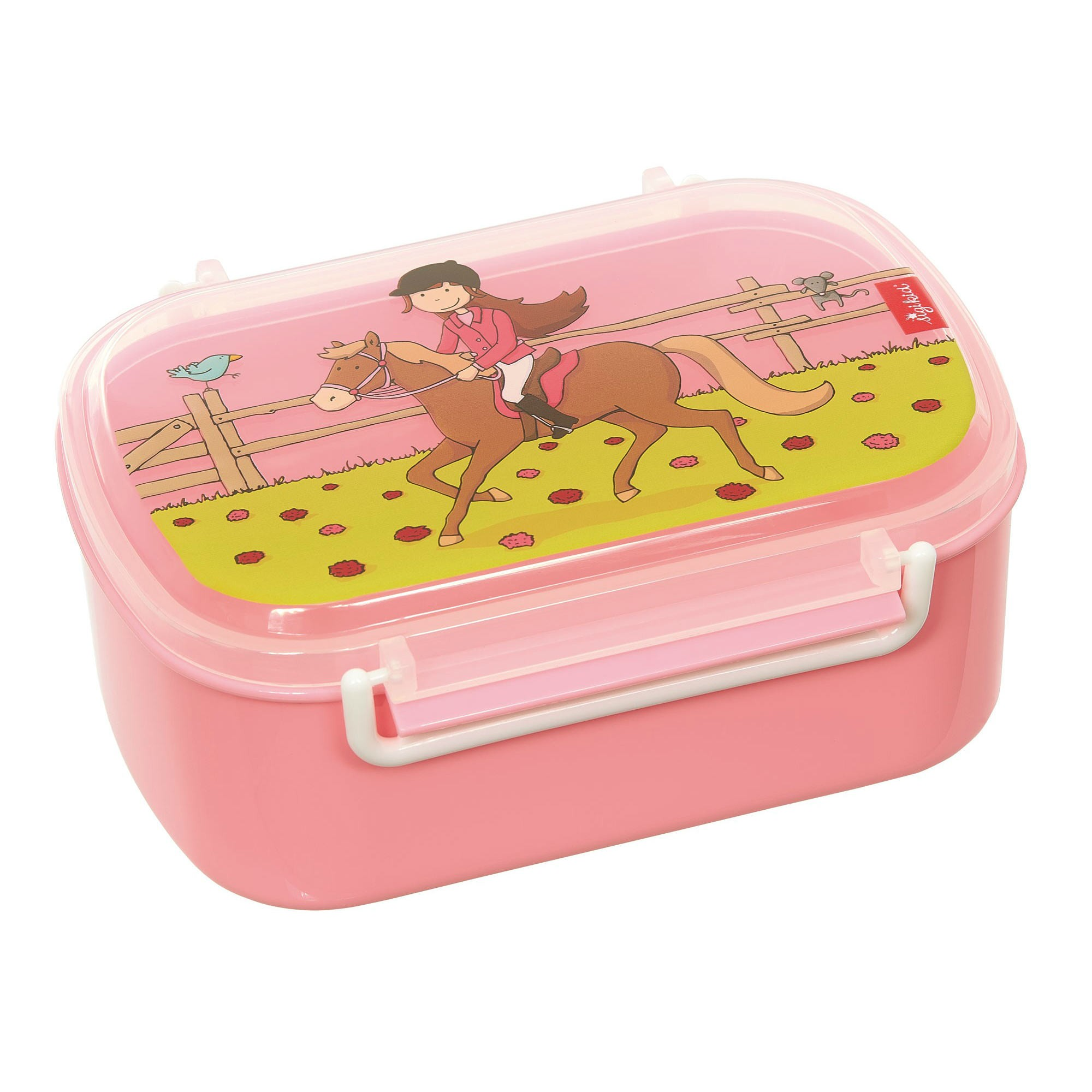 Lunch Box - Bimba a Cavallo