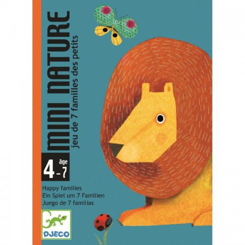 Gioco di Carte Mini Nature Djeco