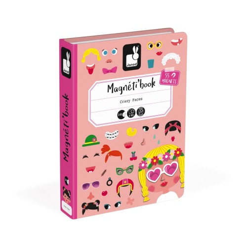 Libro Magnetico Crazy Faces Bimbe